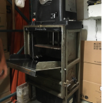 Intelligent Labor and Moving compactor for recycling LDPE and cardboard
