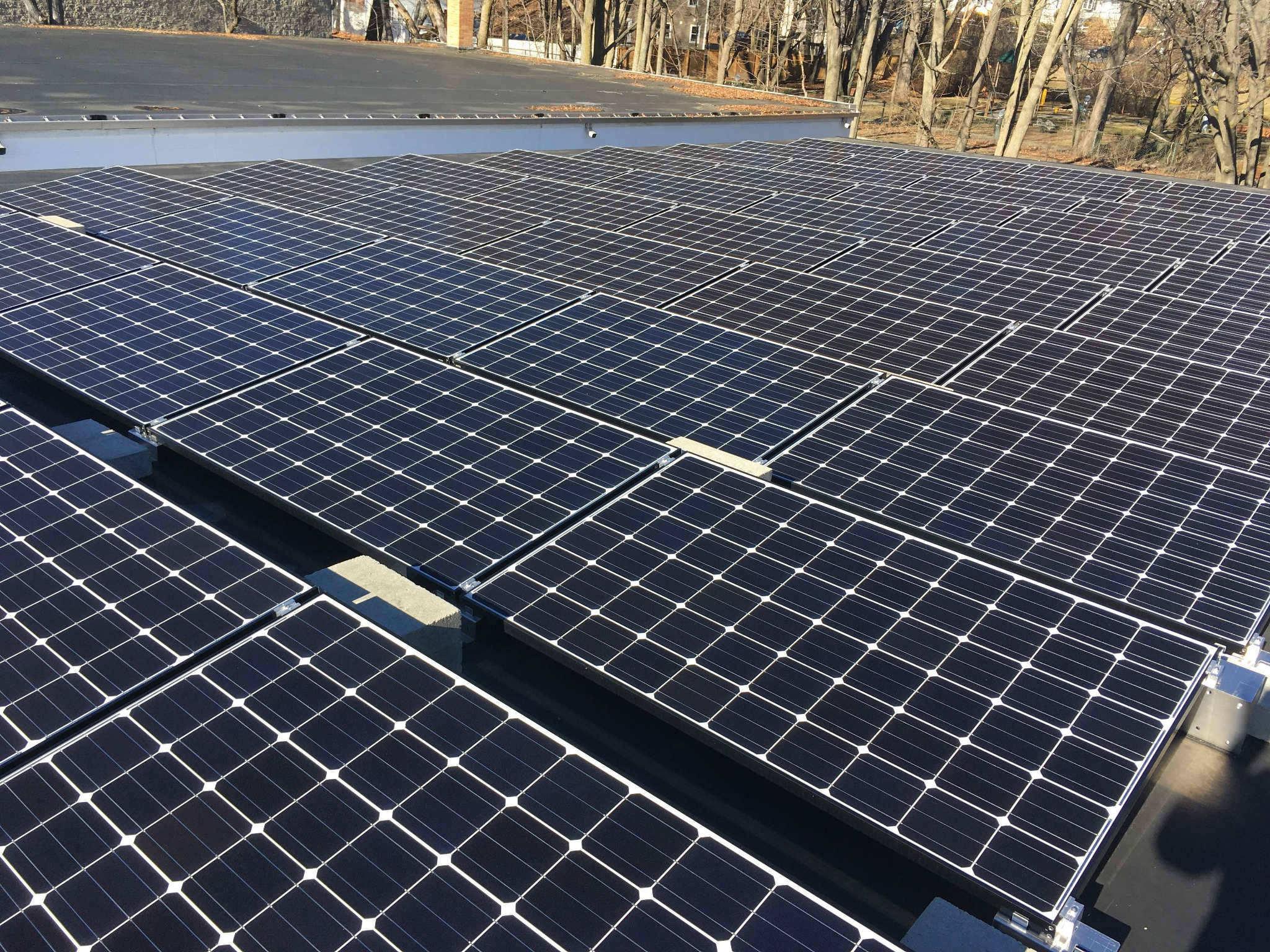 solar installation in arlington, ma
